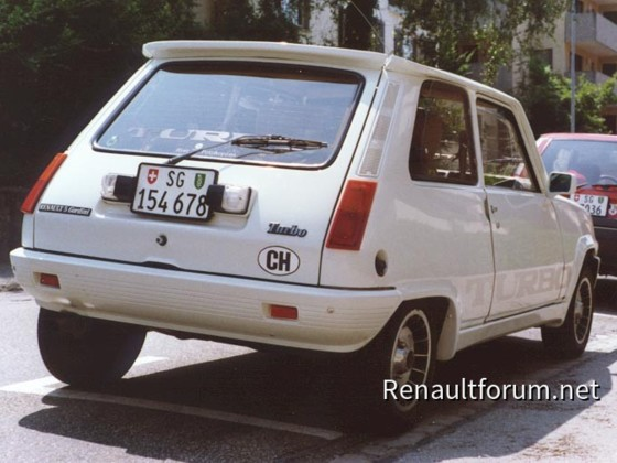 Renault 5 Gordini turbo 1984