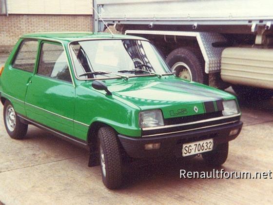 Renault 5 LS 1975